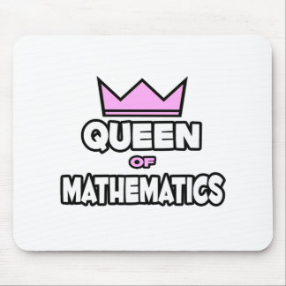 Queen of Mathematics Mouse Pad