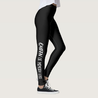 """""""QUEEN of Memory Loss"""" - Leggings with DIVAtude"""