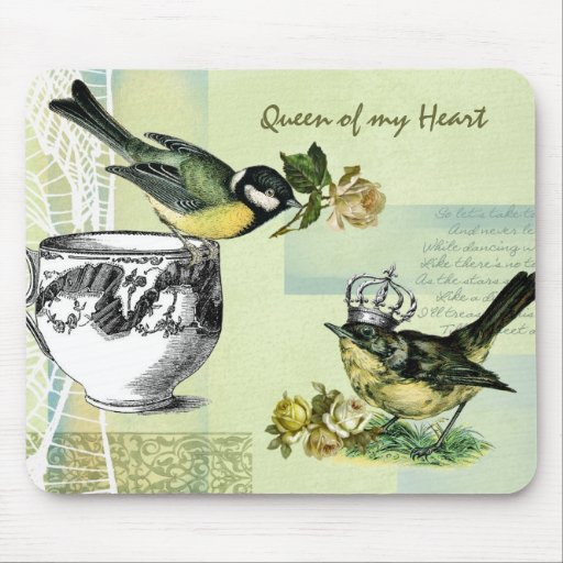 Queen of my Heart. Valentine's Day Gift Mousepad