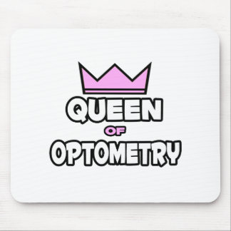Queen of Optometry Mouse Pad