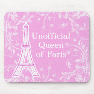 Queen of Paris Mousepads
