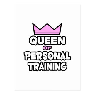 Queen of Personal Training Postcards