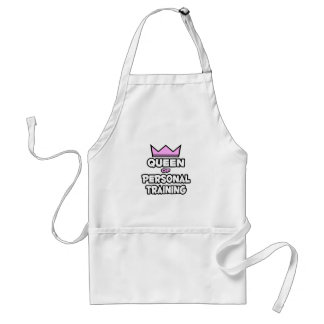 Queen of Personal Training Standard Apron