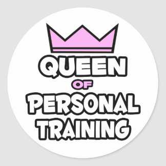 Queen of Personal Training Stickers