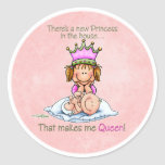 Queen of Princess - Big Sister stickers