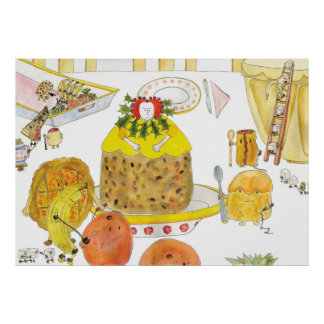'Queen of Puddings' Print