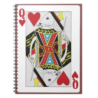 Queen of Rats pad Notebook