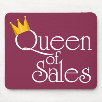 Queen of Sales Mouse Pad