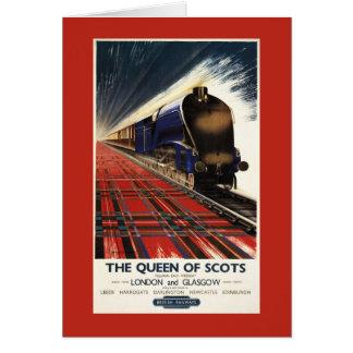Queen of Scots Pullman Train Card
