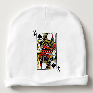 Queen of Spades - Add Your Image Baby Beanie