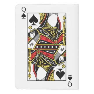 Queen of Spades - Add Your Image Extra Large Moleskine Notebook