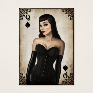 Queen of Spades - Business Card