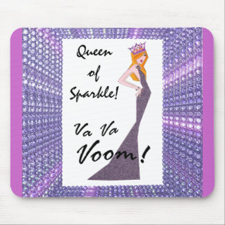 """Queen of Sparkle"" mousepad"
