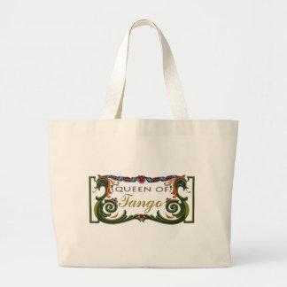 Queen of Tango exclusive design! Tote Bags