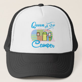 Queen of the Camper Trucker Hat