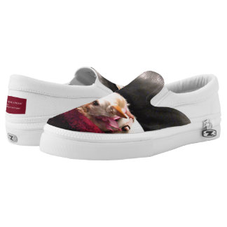 QUEEN OF THE COUCH Slip On Sneakers by Bob Hall