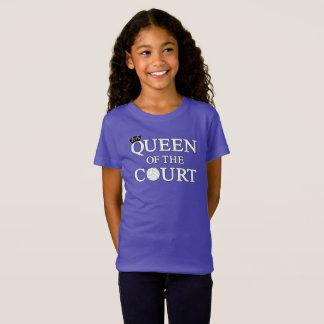 Queen of the Court Cute Girls Volleyball Shirt