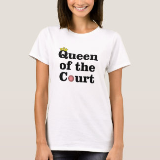 Queen of the Court Tennis t-shirt