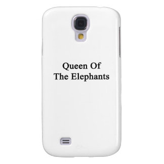 Queen Of The Elephants Samsung Galaxy S4 Covers