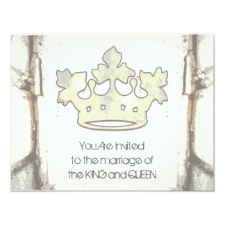 """Queen of the Forest 4.25"""" X 5.5"""" Invitation Card"""