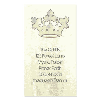 Queen of the Forest Business Cards