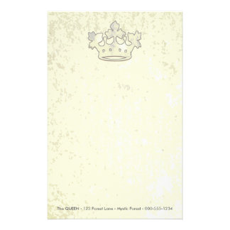 Queen of the Forest Customized Stationery