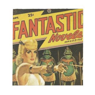 Queen of the Frog Men Notepad