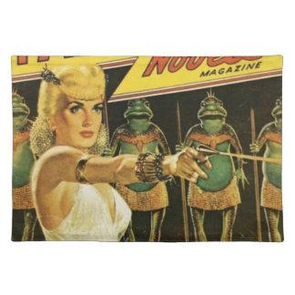Queen of the Frog Men Placemat