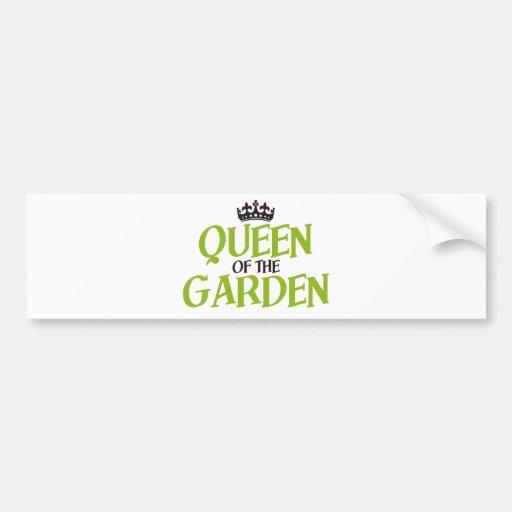 Queen of the Garden Bumper Sticker