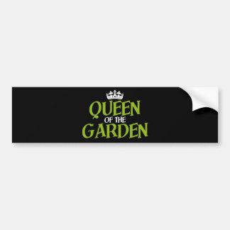 Queen of the Garden Bumper Stickers