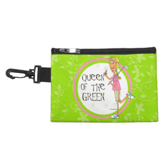 Queen of the Green Accessory Bags