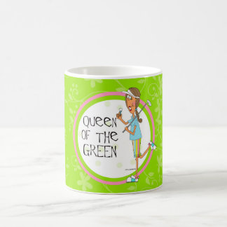 Queen of the Green Coffee Mug