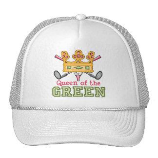 Queen of the Green Womens Golf Cap Mesh Hat