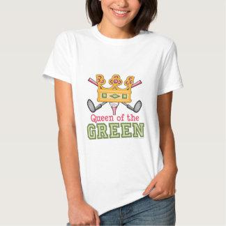 Queen of the Green Womens Golf Shirt