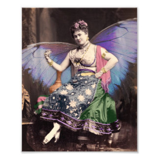 Queen of the Gypsy Vintage Photo Altered