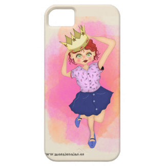 Queen of the house - precious Funda Barely There iPhone 5 Case