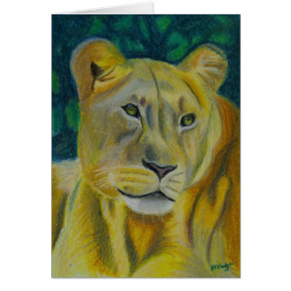 Queen of the Jungle Greeting Card