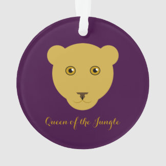 """""""Queen of the Jungle"""" Lioness Ornament"""
