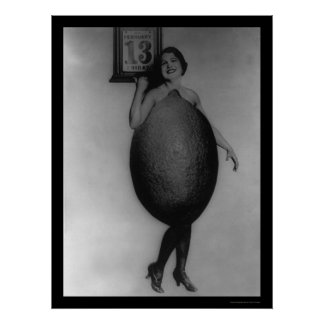 Queen of the Lemons on Friday the 13th 1920 Poster