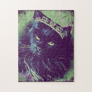 Queen of the Norwegian Forest Cats Jigsaw Puzzle