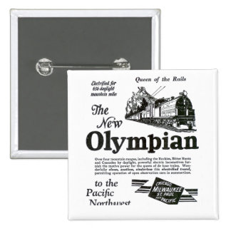Queen of The Rails - New Olympian 1929 15 Cm Square Badge
