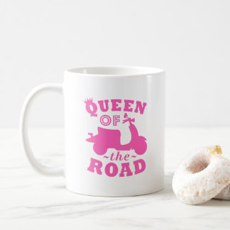 Queen of the Road Coffee Mug