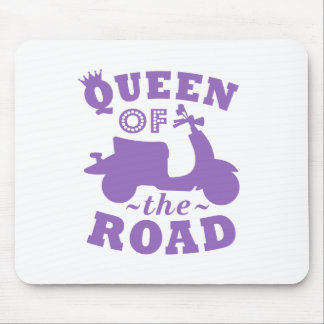 Queen of the Road - Purple Mouse Pad