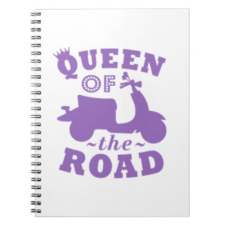 Queen of the Road - Purple Notebooks