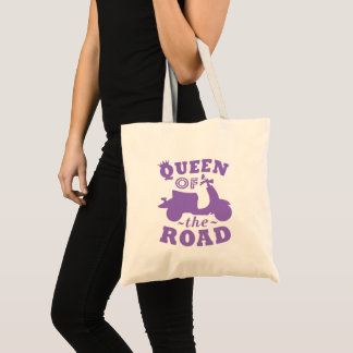 Queen of the Road - Purple Tote Bag