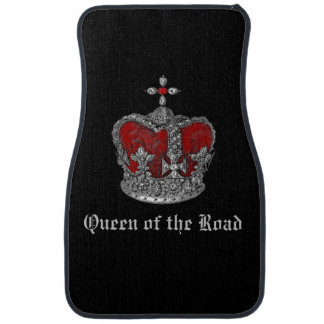 Queen of the Road Royal Crown Car Mats Car Mat