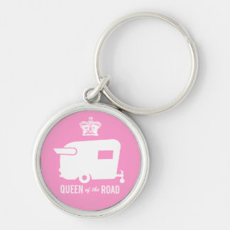 Queen of the Road- Vintage Shasta Camping Keychain