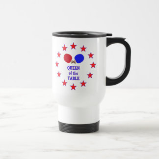 Queen of the Table Ping Pong Coffee Mug