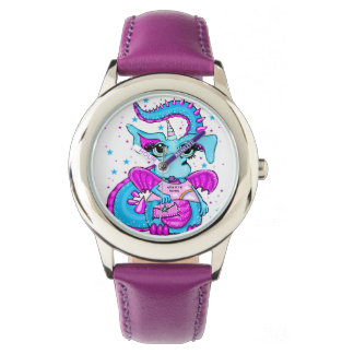 Queen Of The Unicorns Dragon Girl's Watch