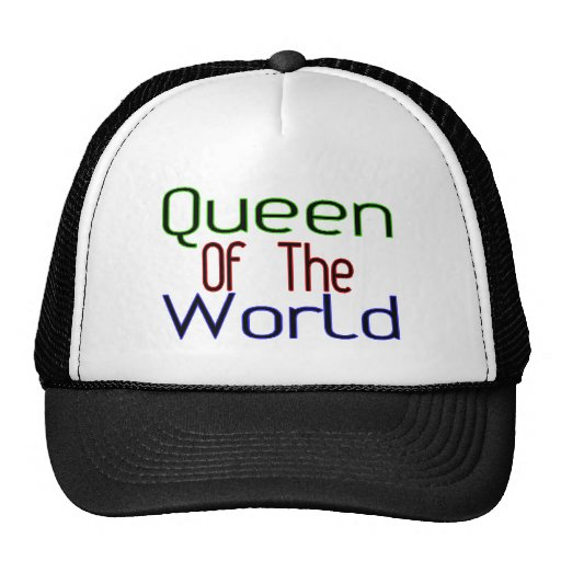 Queen Of The World Mesh Hats